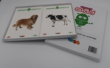 , Take it easy Woordkaarten Groep 1-2 - Me and my animals