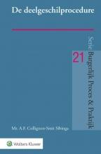 A.F. Collignon-Smit Sibinga , De deelgeschilprocedure