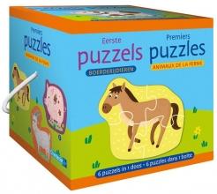 , Eerste puzzels - boerderijdieren Premiers puzzles - animaux de la ferme