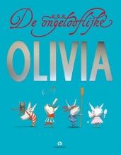 Ian  Falconer De ongelooflijke Olivia, bundel met Olivia en de verdwenen knuffel, olivia begint een band en olivia en de sprookjesprinsessen.