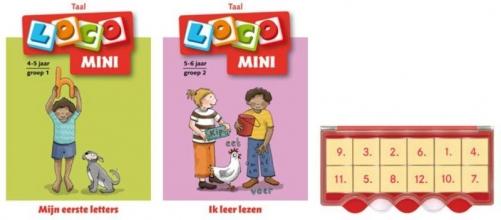 , Loco Mini eerste letters (doos + 2 boekjes)