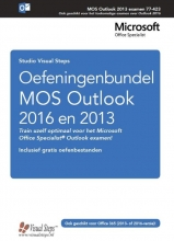 Studio Visual Steps , Oefeningenbundel MOS Outlook 2016 en 2013