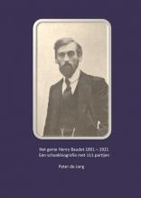 Peter de Jong , Het genie Henry Baudet 1891-1921