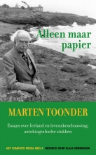 Marten Toonder , Alleen maar papier