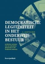 Gijsbert Leertouwer , Democratische legitimiteit in het onderwijsbestuur