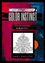 Emmy Sinclaire , Volwassenen kleurboek Color Instinct 4 : Anti Stress Relax Fantasiewereld