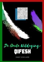 Emmy Sinclaire , Volwassenen kleurboek De Grote Uitdaging : QIFESH