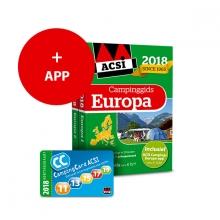 ACSI ACSI Campinggids - ACSI Campinggids Europa + app 2018