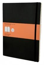 , Notitieboek Moleskine XL 190x250mm lijn zwart