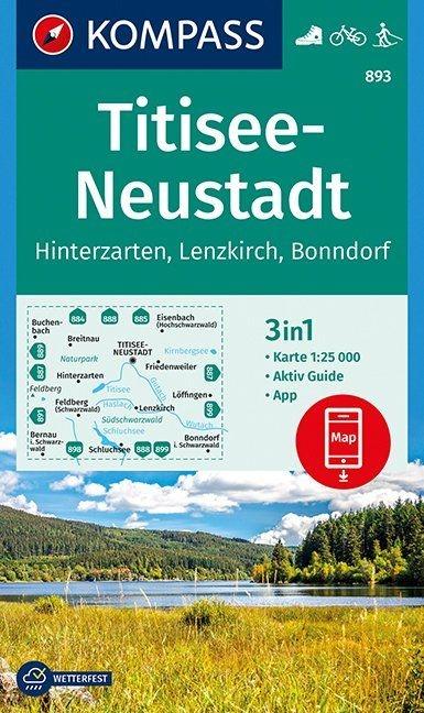 ,Titisee-Neustadt 1 : 25 000