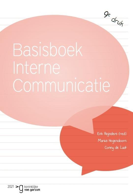 Erik Reijnders, Conny de Laat, Marius Hogendoorn,Basisboek interne communicatie