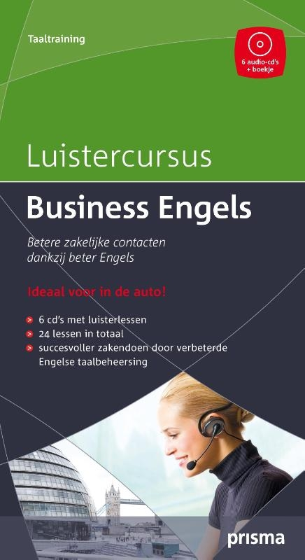 W. Hemelrijk,Prisma Luistercursus Business Engels