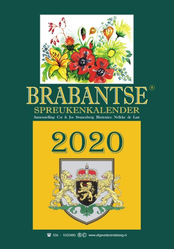 ,Brabantse spreukenkalender 2020