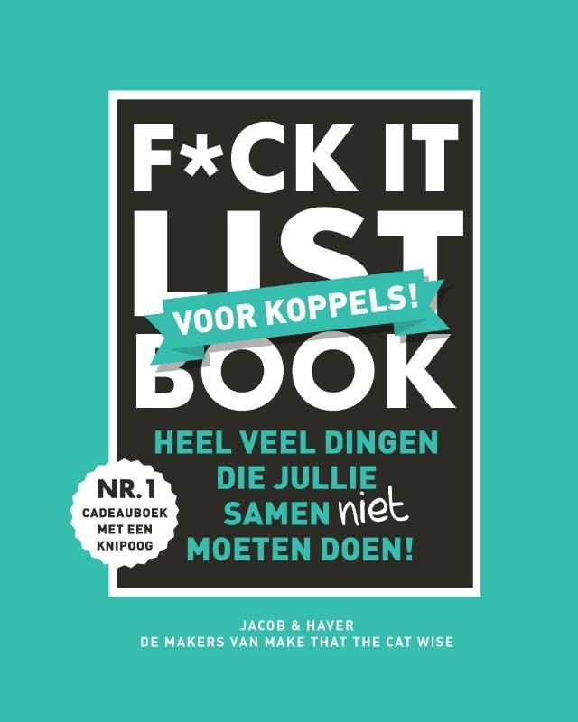 Jacob & Haver,F*CK-it list book voor koppels