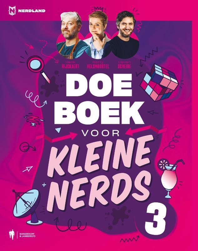 Lieven Scheire, Hetty Helsmoortel, Henk Rijckaert,Doeboek voor kleine nerds 3