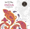 Abrams,Vive le Color! India (coloring Book)
