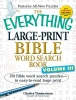 Timmerman, Charles,The Everything Large-Print Bible Word Search Book