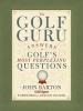 Barton, John,The Golf Guru
