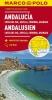 ,<b>MARCO POLO Karte Andalusien, Costa del Sol, Sevilla, Cordoba, Granada 1:200 000</b>