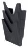 ,Folderhouder Avery nr144 wand folio hoog 3vaks zwart