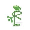 ,Anywhere Light leeslampje - Ego Green