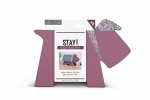 ,Stay! Doggy Book Rest - Purple Herringbone