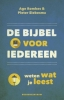Age  Romkes, Pieter  Siebesma,De Bijbel voor iedereen