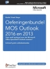 Studio Visual Steps,Oefeningenbundel MOS Outlook 2016 en 2013