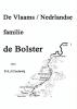 <b>P.A.J.  Coelewij</b>,De Vlaams/Nederlandse familie de Bolster