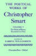 Christopher Smart The Poetical Works of Christopher Smart: Volume V. The Works of Horace, Translated Into Verse
