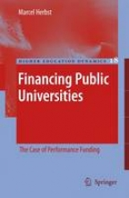 Herbst, Marcel Financing Public Universities