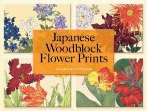 Konan, Tanigami Japanese Woodblock Flower Prints