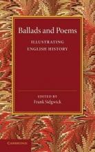 Frank Sidgwick Ballads and Poems Illustrating English History