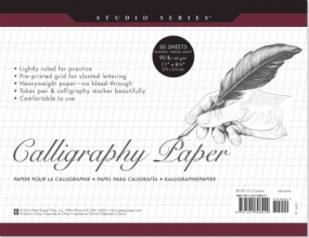 Studio Series Calligraphy Paper Pad