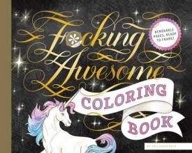 Calligraphuck Fucking Awesome Coloring Book