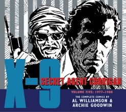 Williamson, Al,   Goodwin, Archie X-9 Secret Agent Corrigan 5