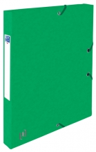 , Elastobox Oxford Top File+ A4 25mm groen