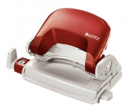 , Perforator Leitz NeXXt 5058 2-gaats 10vel rood