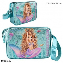 0010391 a Fantasy model schoudertas mermaid blauw