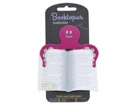 , Booktopus boekhouder om boek open te houden roze