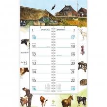 , Omlegkalender 2022 rien poortvliet boerderij postbode 21x34