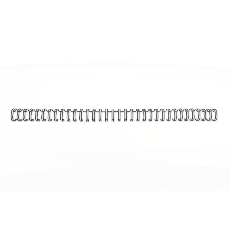 ,Draadrug GBC 11mm 34-rings A4 zwart 100stuks