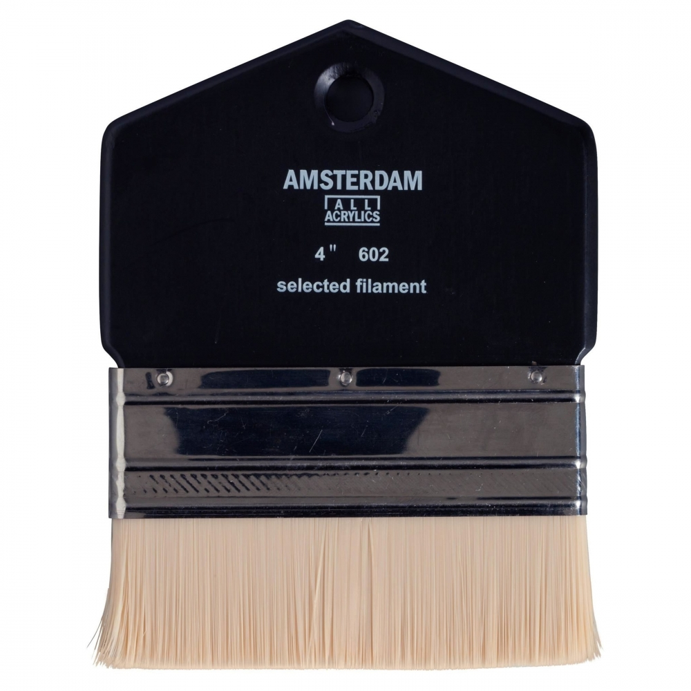 ,Talens amsterdam paddle brush 4 inch selected filament