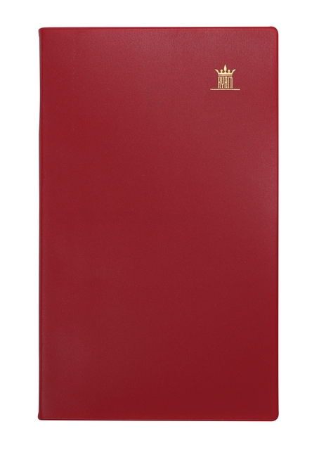 ,Agenda 2021 Ryam memoplan 7 staand Suprema bordeaux
