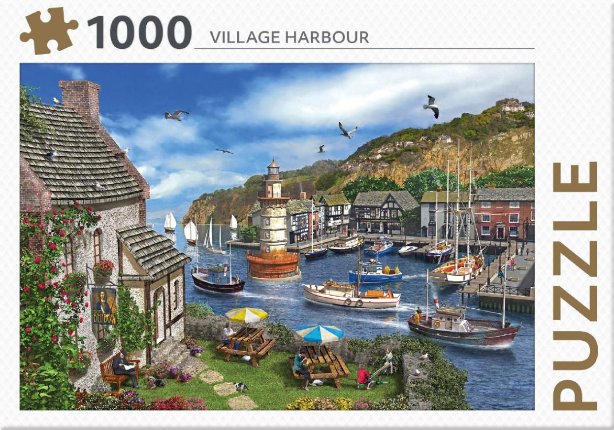 ,Village Harbour - puzzel 1000 st