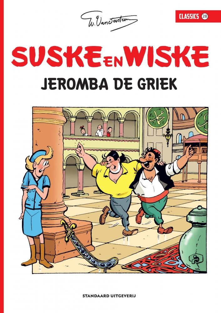 Willy Vandersteen,Jeromba de Griek