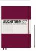 ,<b>Leuchtturm notitieboek master slim a4 points dots port red</b>