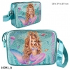0010391 a , Fantasy model schoudertas mermaid blauw