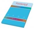,<b>Kopieerpapier Fastprint A4 120gr Azuurblauw 100vel</b>