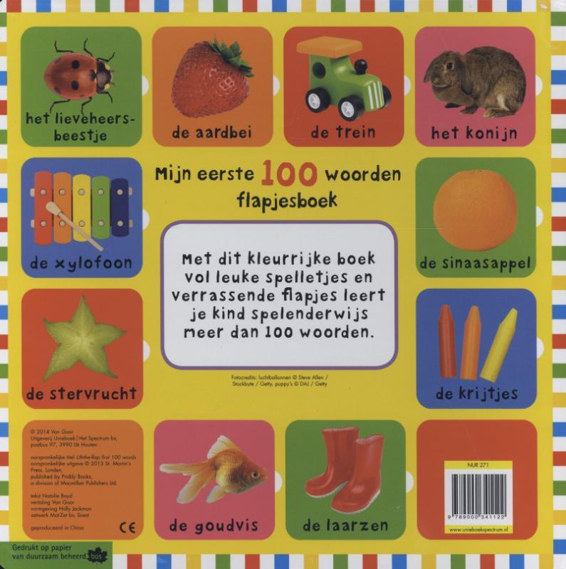 Nathalie  Boyd,Mijn eerste 100 woorden flapjesboek